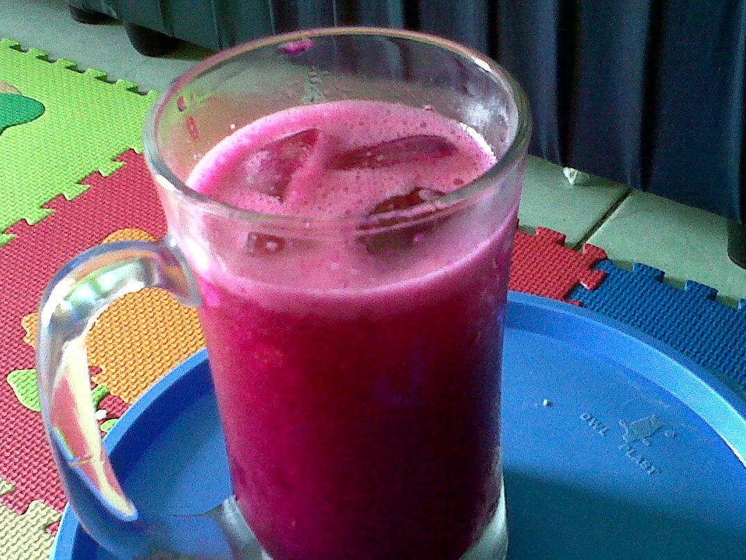 Minuman Buah Naga Juice Buah Naga